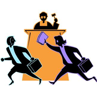 Clip Art And Books On Lawyers Clipart.