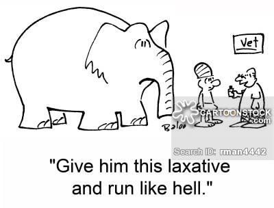 Laxatives Cartoons and Comics.