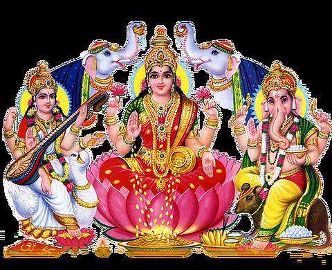 Lakshmi Mata PNG Image Background #14595.