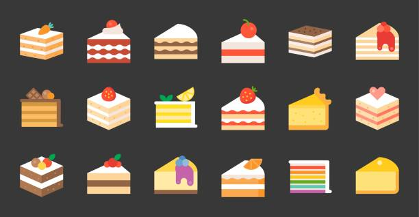 Best Layer Cake Illustrations, Royalty.