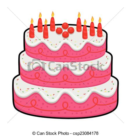 Layer cake Illustrations and Clipart. 709 Layer cake royalty free.