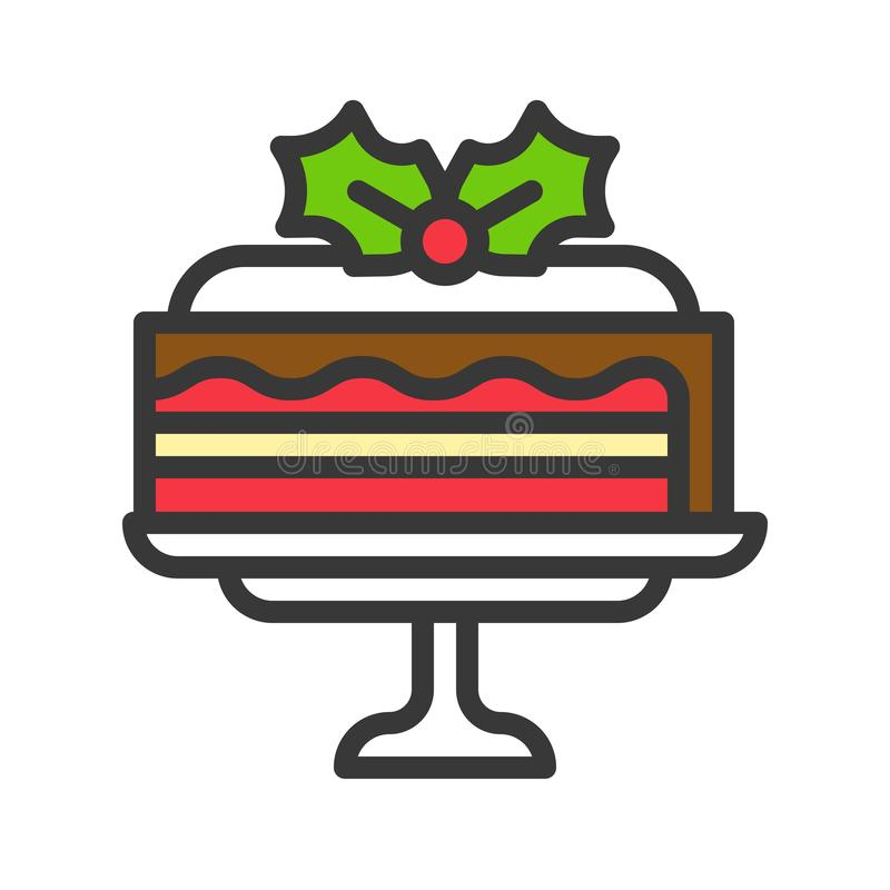 Layered Cake Stock Illustrations.
