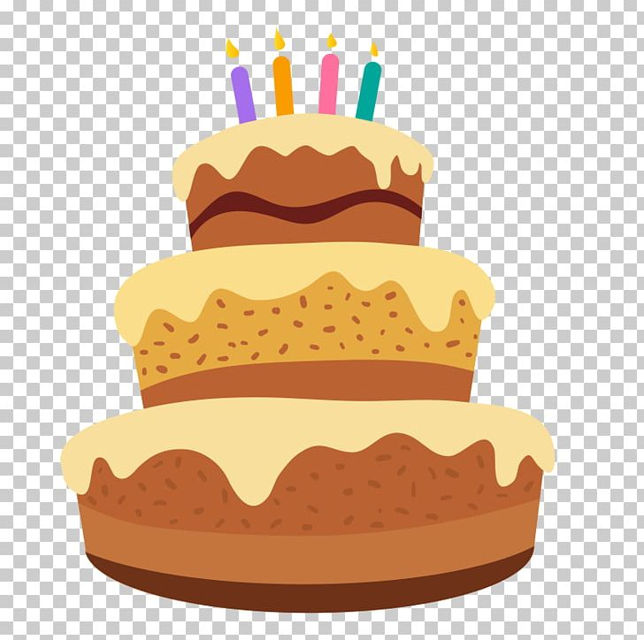 Birthday Cake Frosting & Icing Layer Cake PNG, Clipart.
