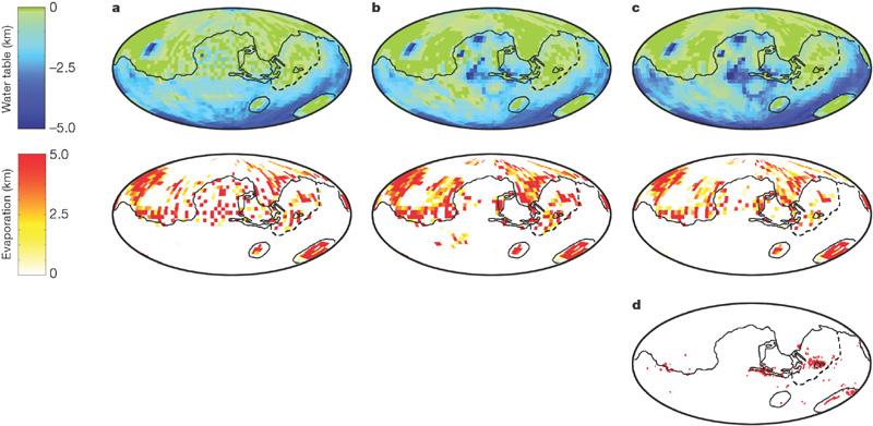 Figure 2 : Meridiani Planum and the global hydrology of Mars : Nature.