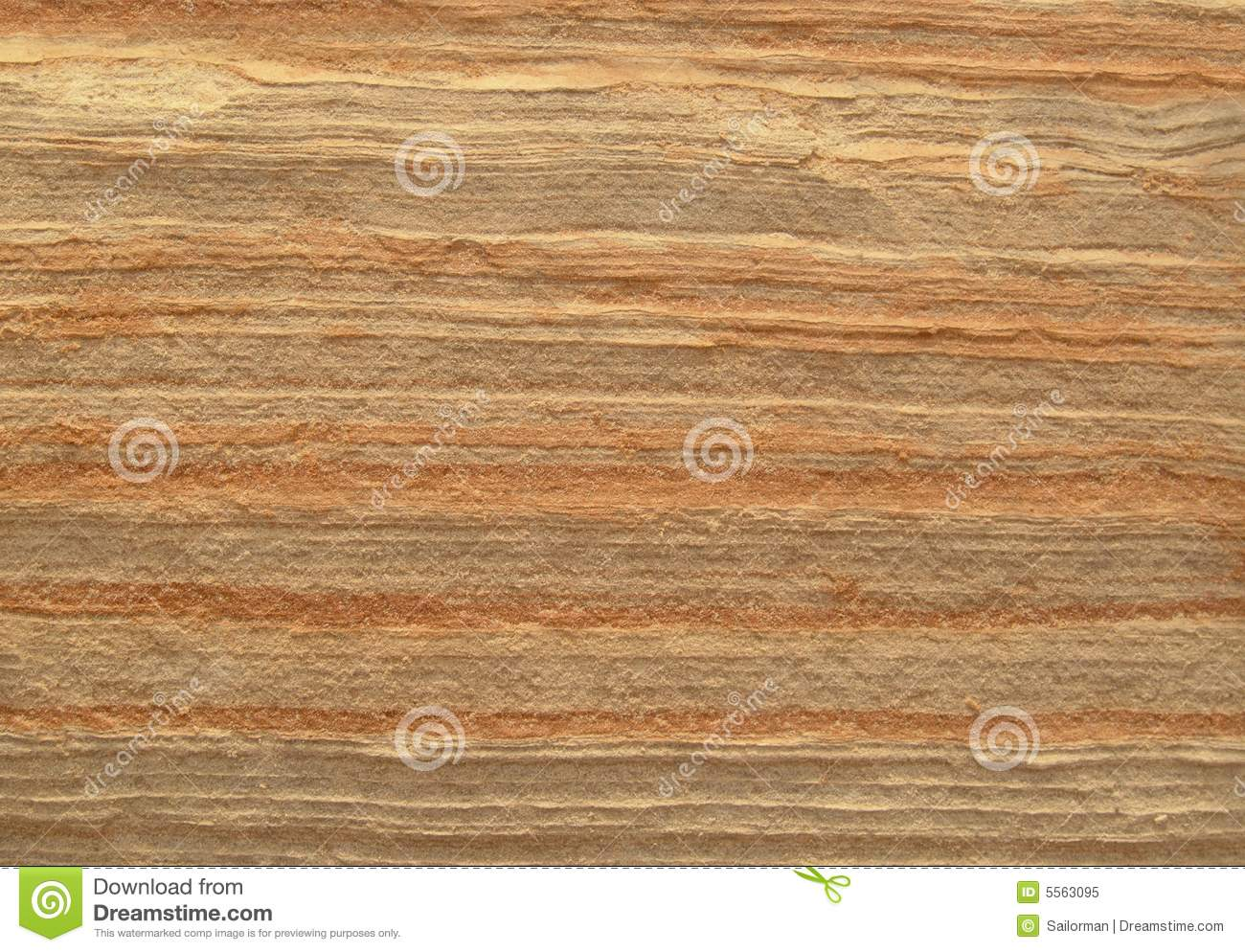 Layered Sandstone Texture. Royalty Free Stock Photo.