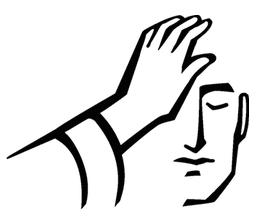 Laying of the hands is significant because it represents.