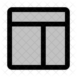 Grid Layout Icon.