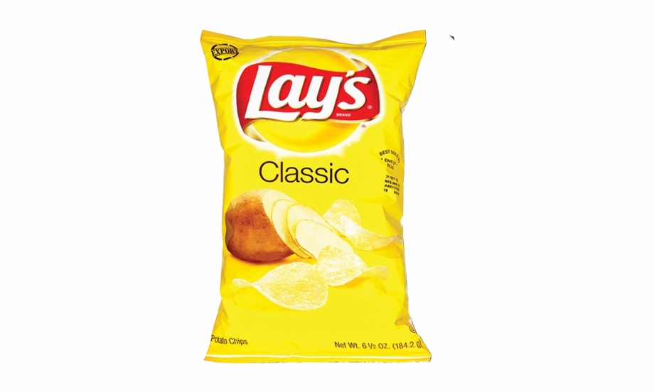 Lays Classic Potato Chips.