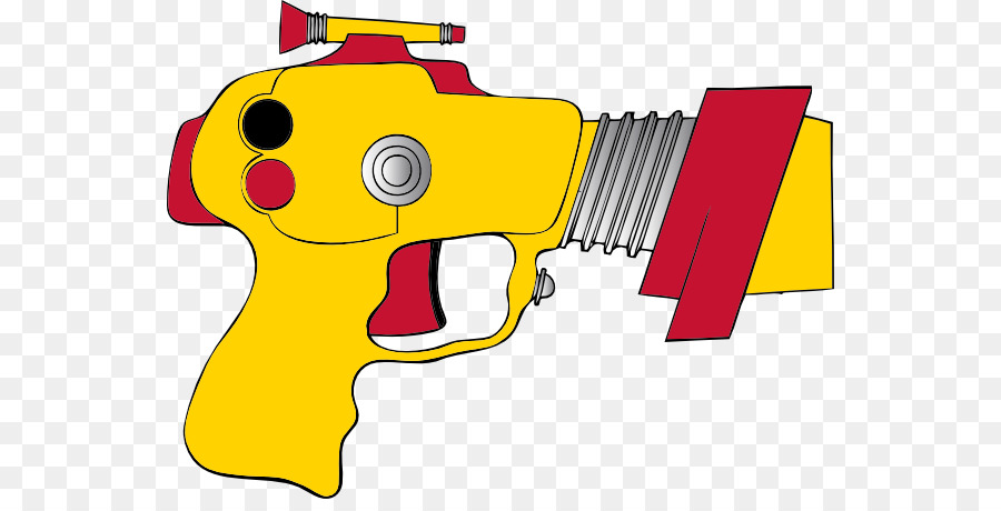 Laser tag Raygun Firearm Clip art.
