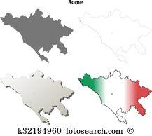Lazio shoreline Clip Art Illustrations. 4 lazio shoreline clipart.