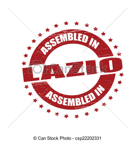 Vectors of Assembled in Lazio.