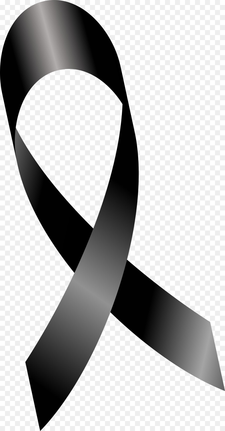 Mourning Black ribbon Grief Lazo.