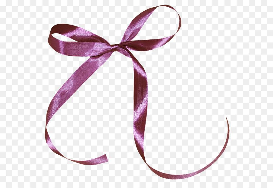 Purple Ribbon png download.