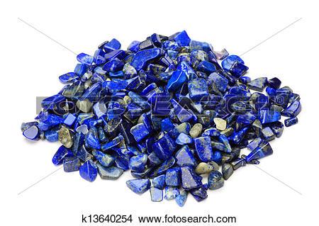 Stock Photo of lapis lazuli k13640254.