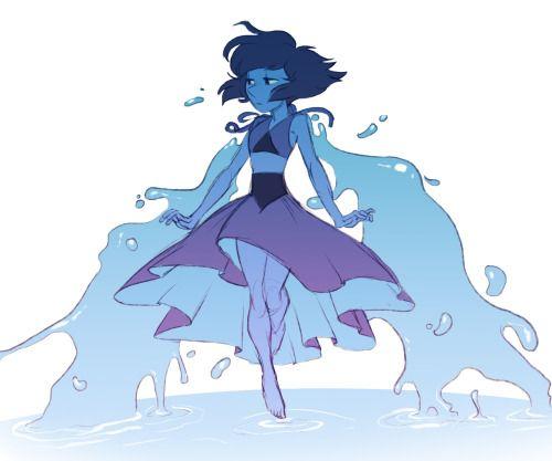 Lapis Lazuli Cartoon.