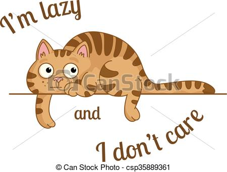 Lazy cat Illustrations and Clip Art. 728 Lazy cat royalty free.