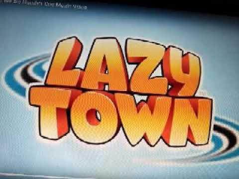 We are number one song on the Lazy town logo.