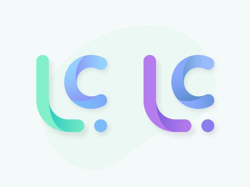 Lc Logo by Luiz Carvalho on Dribbble.