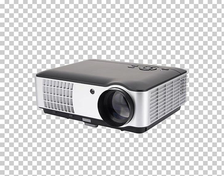 Multimedia Projectors 1080p Handheld Projector LCD Projector.