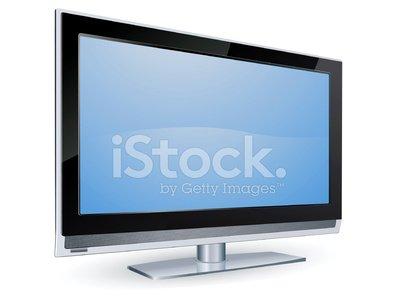 Lcd TV Screen premium clipart.