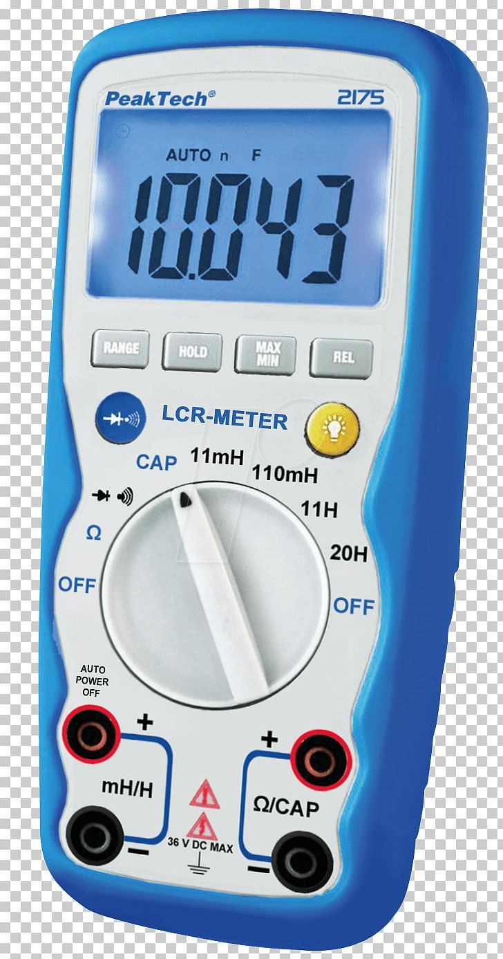 LCR Meter Measuring Instrument Measurement Multimeter Henry.