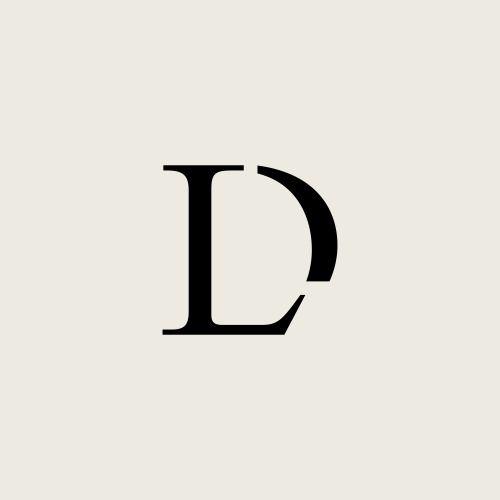 logo / monogram / L D.
