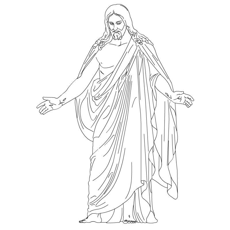 LDS Jesus Jesus Clip Art.
