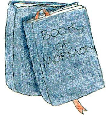 Lds Book Of Mormon Clipart.