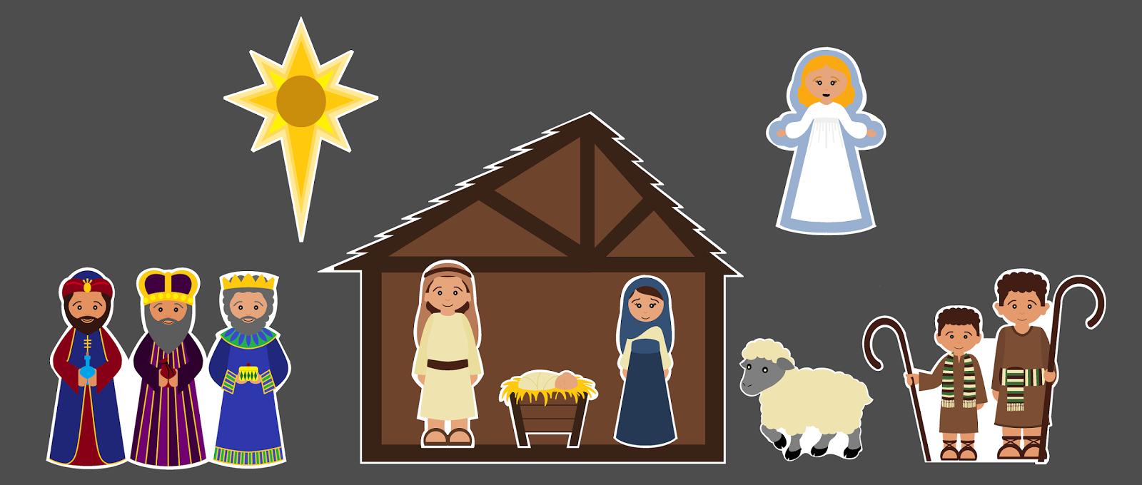 Mormon Share } Activity: Christmas Song Nativity.
