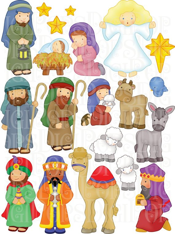 Lds clipart christmas nativity 2 » Clipart Portal.