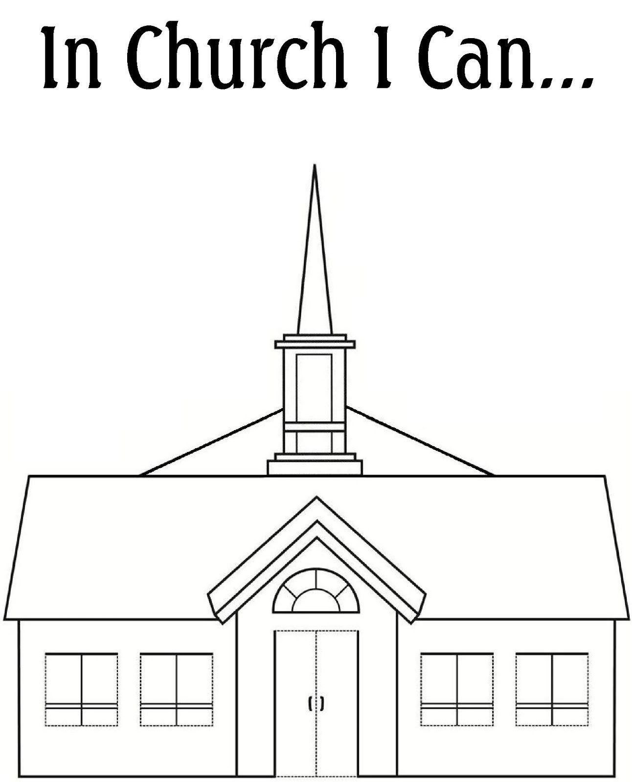 Lds church clipart black and white 5 » Clipart Portal.
