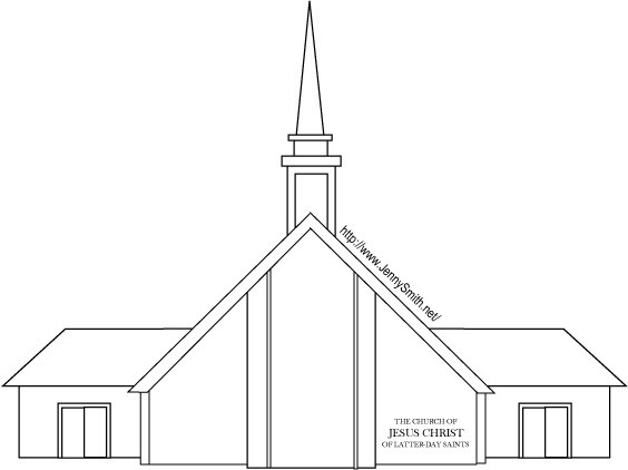 Lds church building clipart 1 » Clipart Portal.