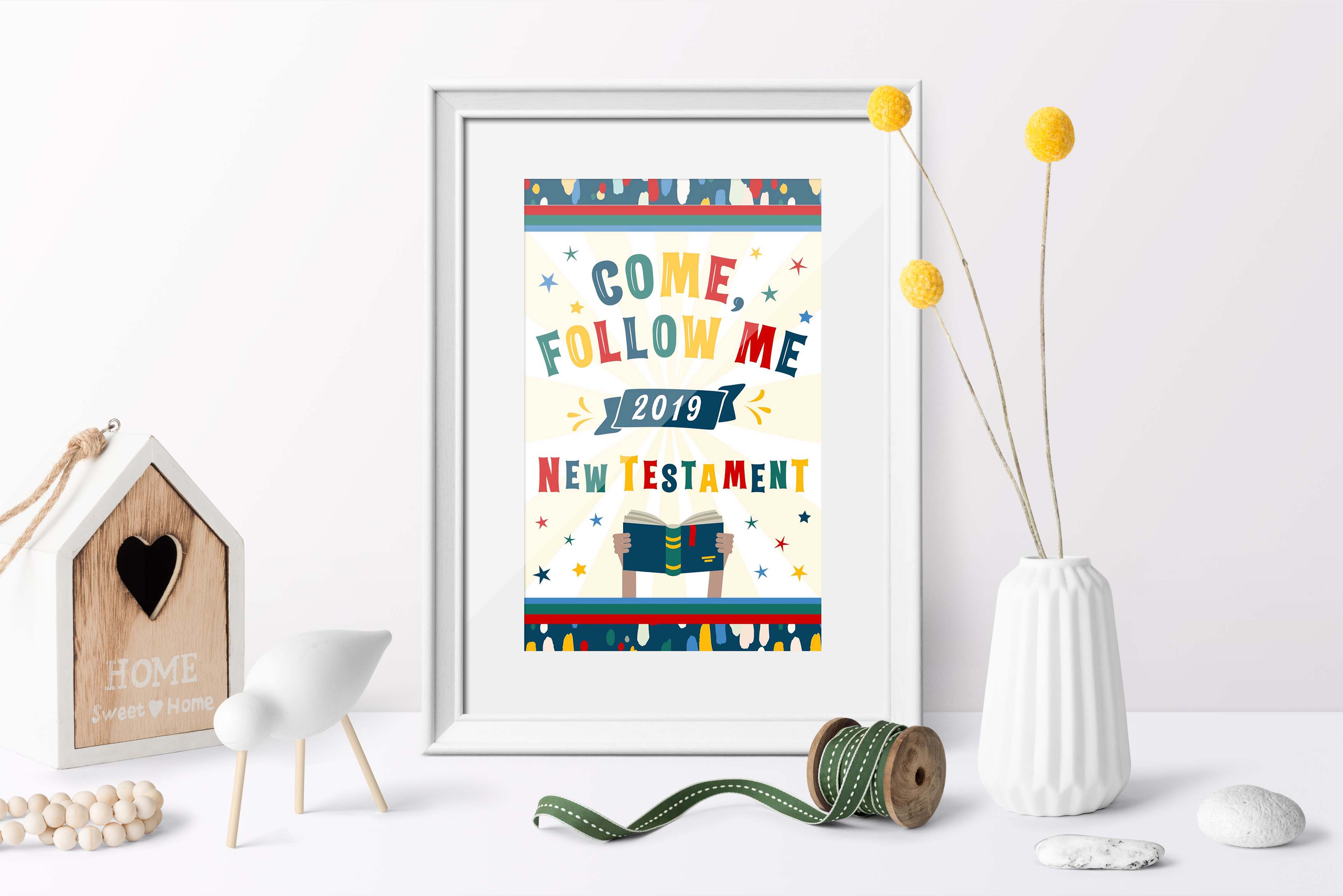 2019 Primary Free Printables for Come, Follow Me.