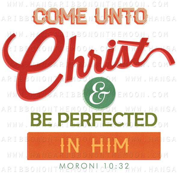 2014 Mutual Theme Logos: Come Unto Christ.