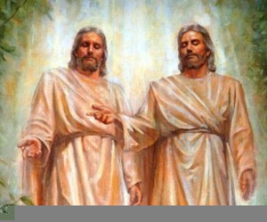 Lds Clipart Heavenly Father And Jesus.