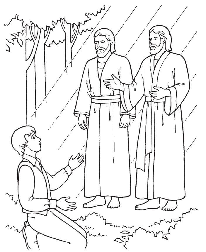 Joseph Smith First Vision activities.