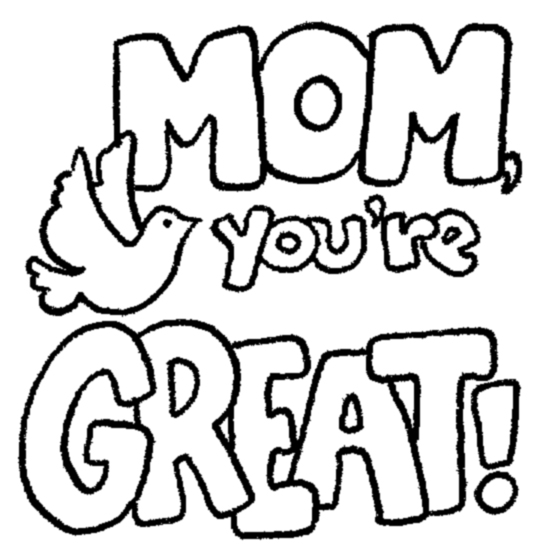 Mother Clipart Images Black And White.