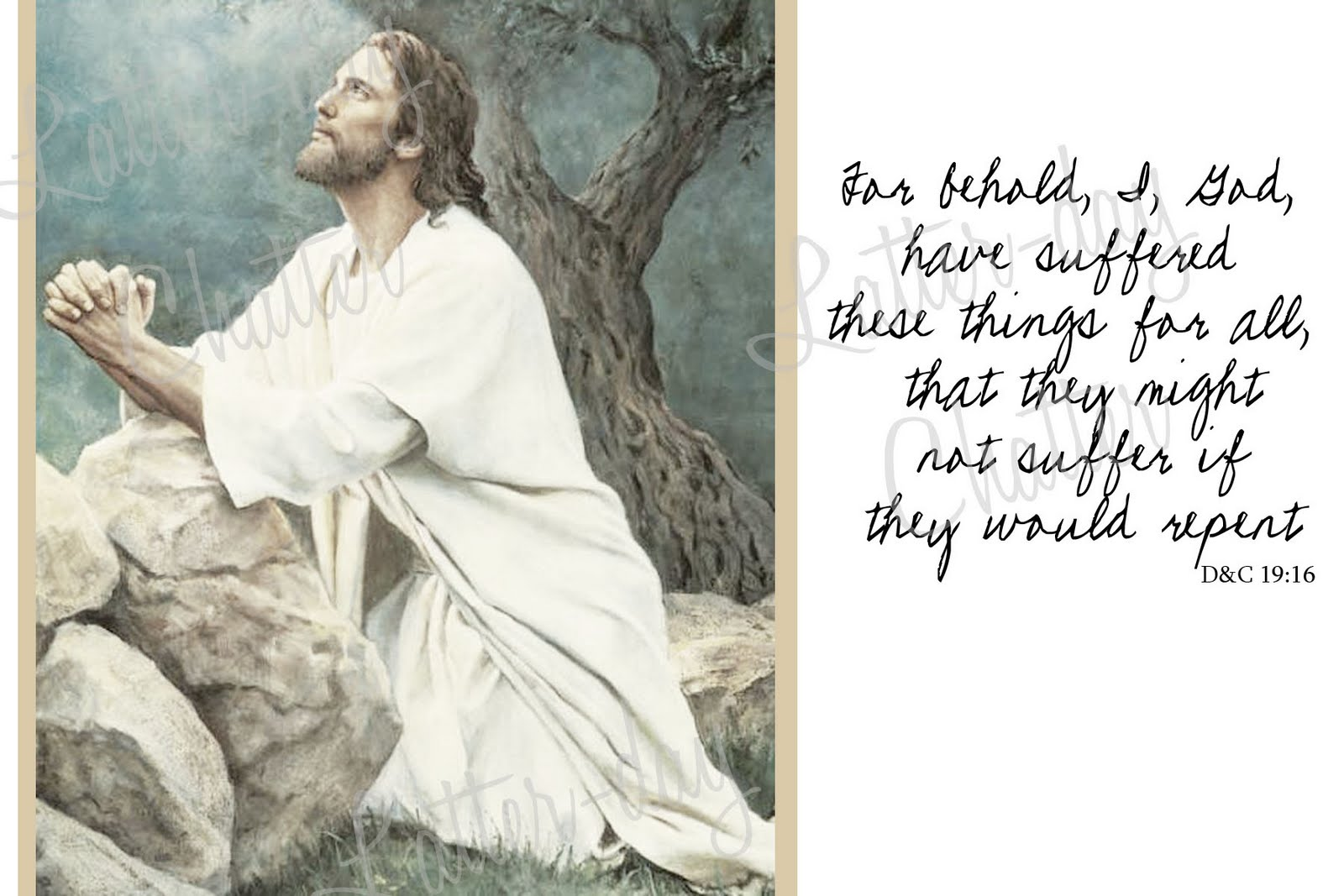 lds clipart of jesus christ Clipground