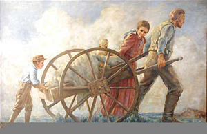 Lds Clipart Pioneers.