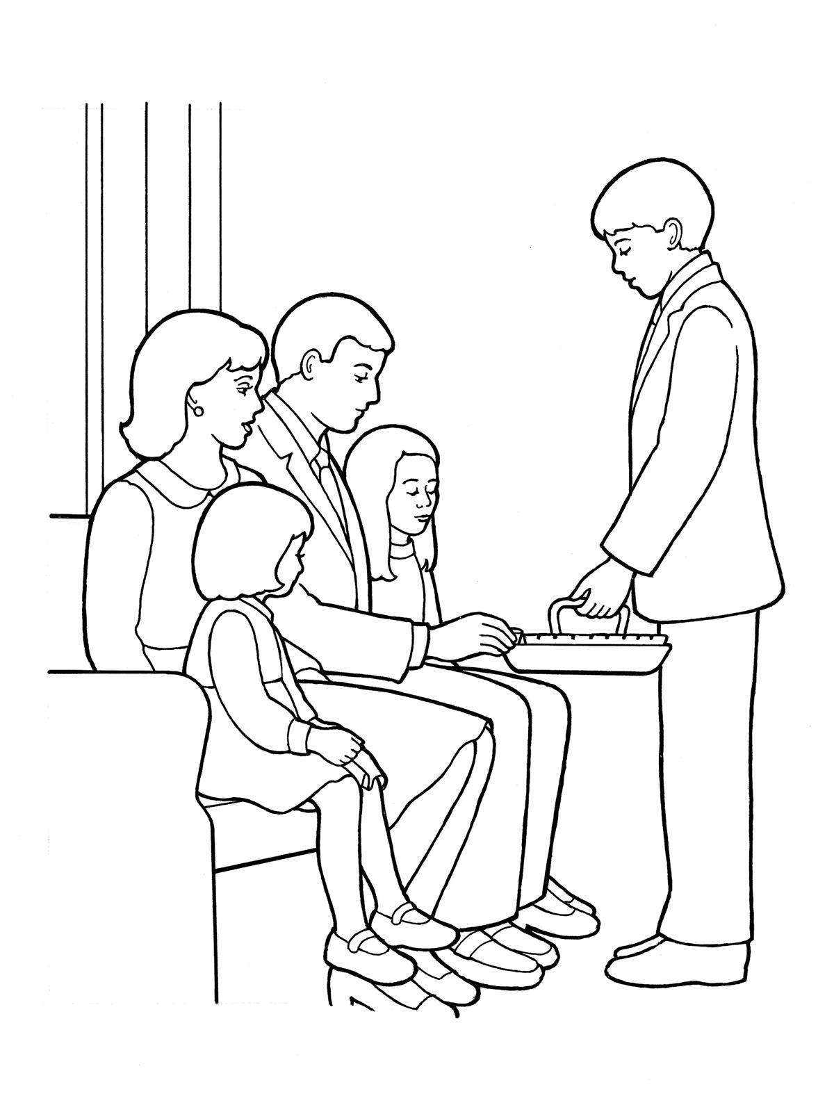 Lds clipart sacrament 6 » Clipart Station.
