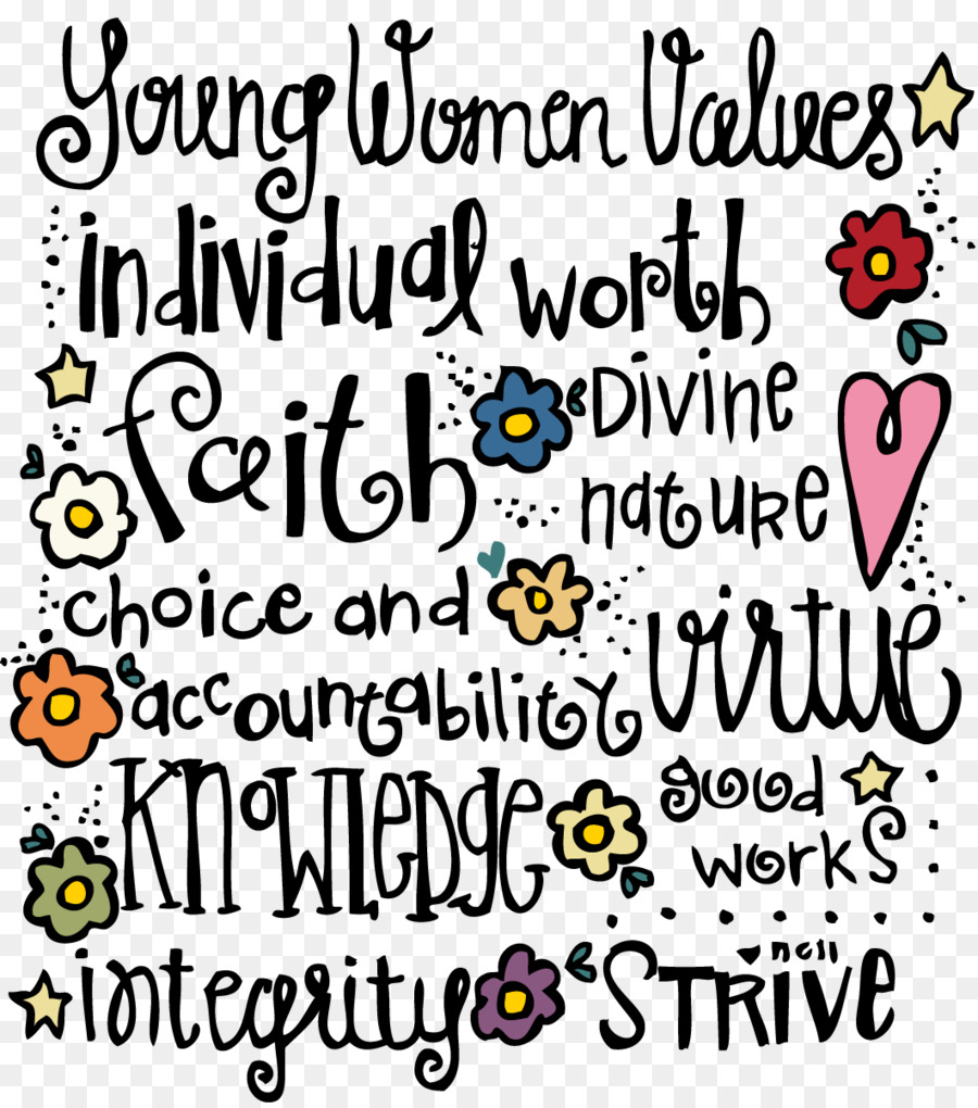Young Women clipart.