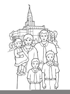 Lds Clipart Eternal Family.