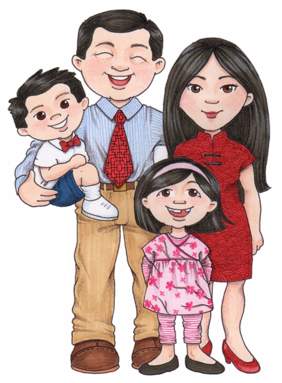 Lds family clipart kid.