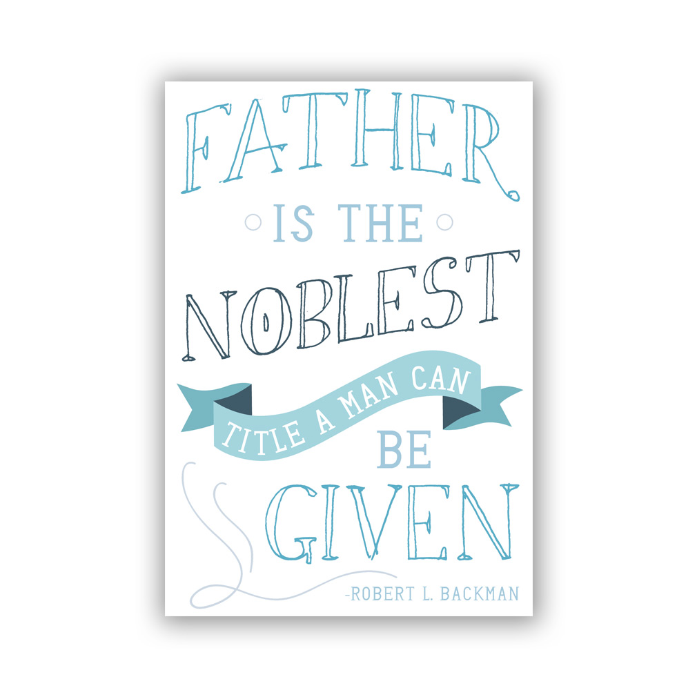 LDS Father\'s Day Card.