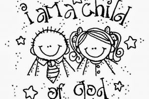 I am a child of god clipart 3 » Clipart Station.