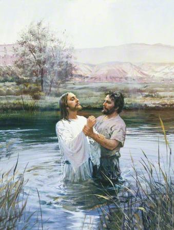 John the Baptist Baptizing Jesus (John Baptizing Jesus).