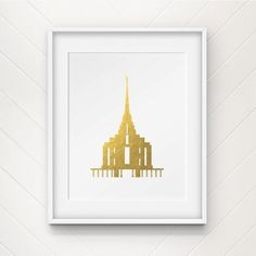 Washington DC Temple LDS Mormon Clip Art Silhouette png eps svg.