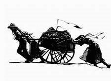 Pioneer clipart handcart, Pioneer handcart Transparent FREE.
