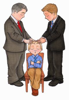 Lds Priesthood Blessing Clipart.