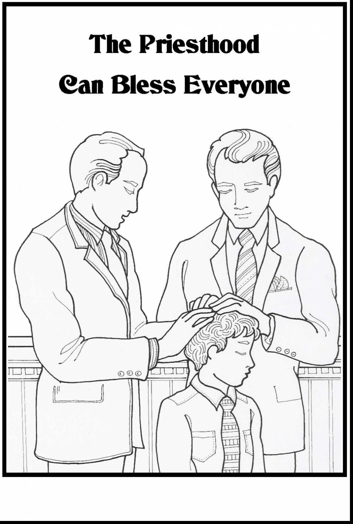 Surprising lds priesthood coloring pages with lds coloring pages.
